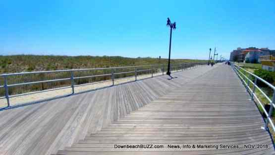 Atlantic City Boardwalk Dunes
