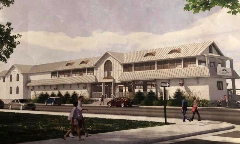 Rendering of New Lamberti's on Amherst Ave. Margate