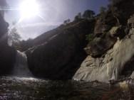 Waterfall pool.