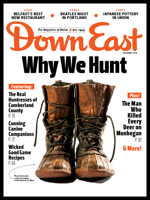 Down East November 2014 Cover