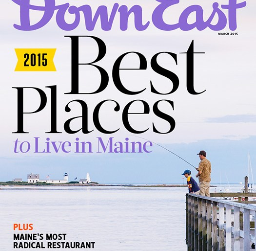Down East March 2015 Cover