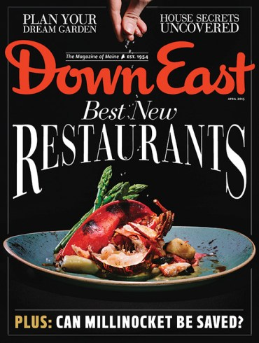 Down East April 2015 Cover