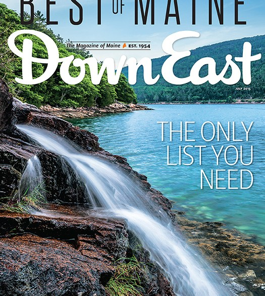 Down East July 2015 Cover