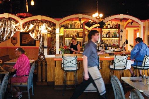 Maine Restaurant, Van Lloyd's Bistro, Damariscotta