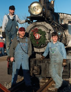 Christmas Trains in Maine, Polar Express, Down East Magazine