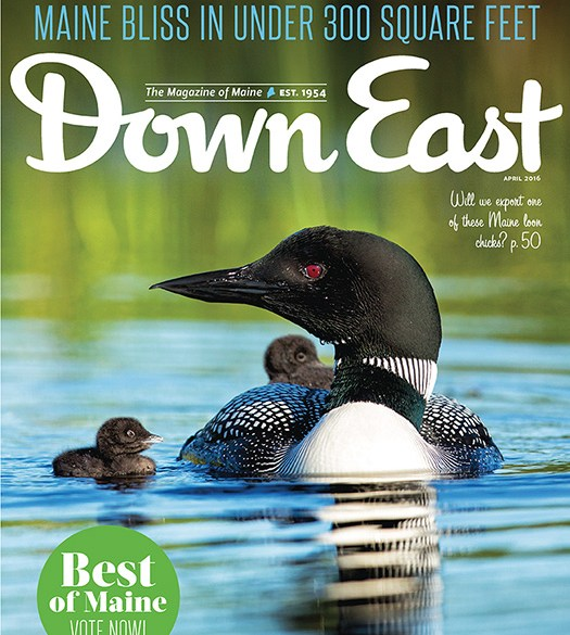Down East April 2016 Cover