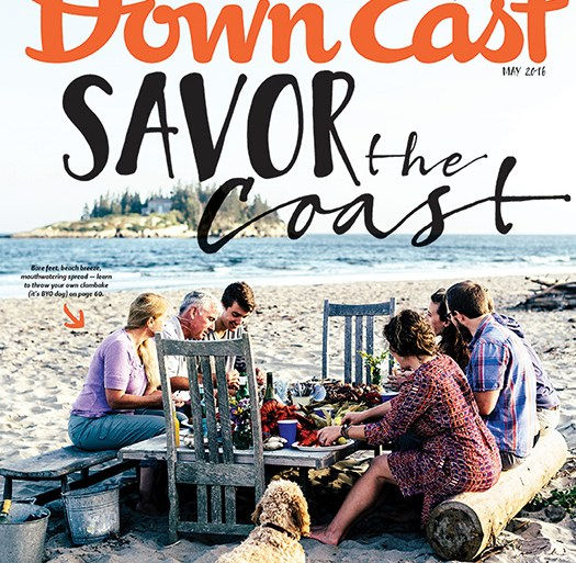 Down East May 2016 Cover