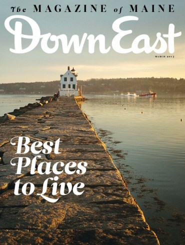 Down East Magazine March Cover