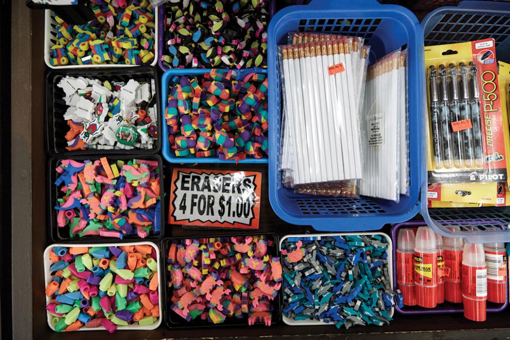 erasers for sale at big al's
