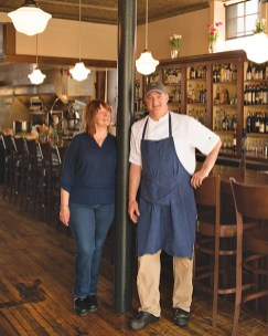 Co-owners Jessica and Patrick Duffy 18 central