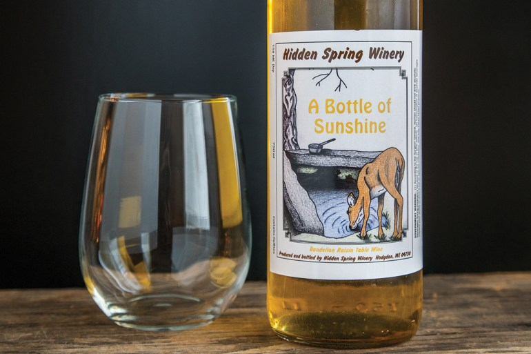 Hidden Spring Winery - A Bottle of Sunshine