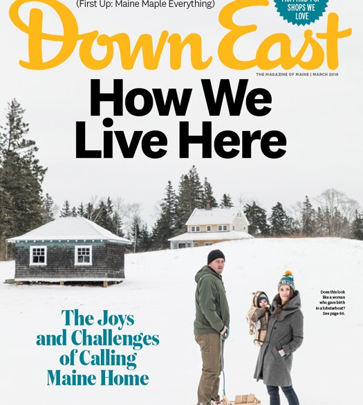 Down East Magazine March 2018 Cover