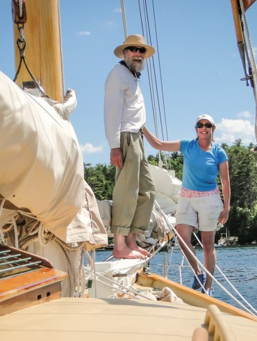 sailboat, meet the cruisers, sailing in maine