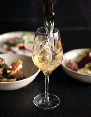 Smart wine pairings are the specialty of the house.