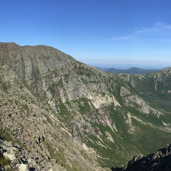2018-07-05 Mt Katahdin, Knife's Edge, panorama 859a