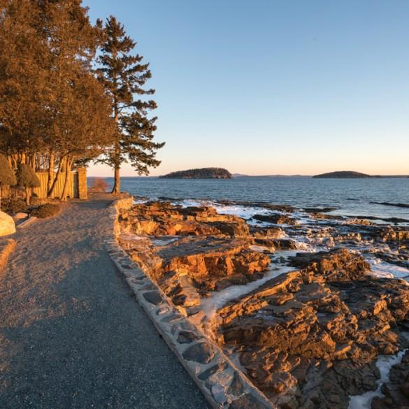 Bar Harbor Shore Path