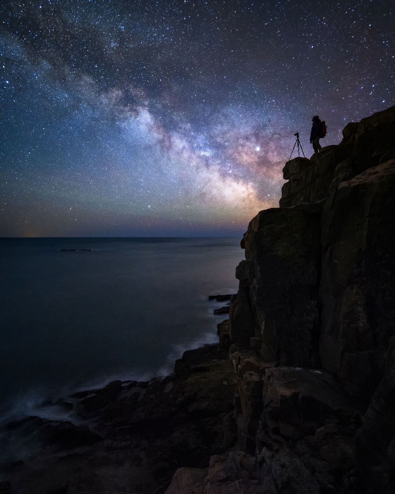 Otter Point Milky Way by Jon Secord