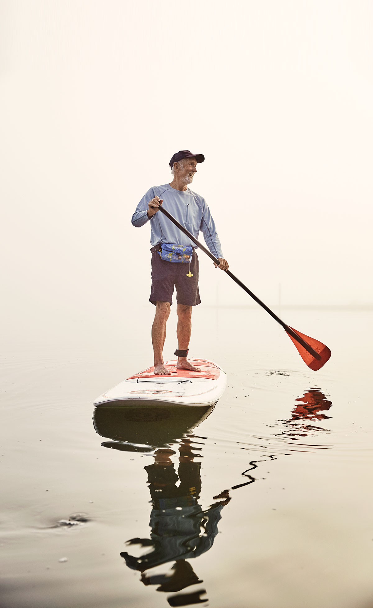 Paddleboarding in Maine