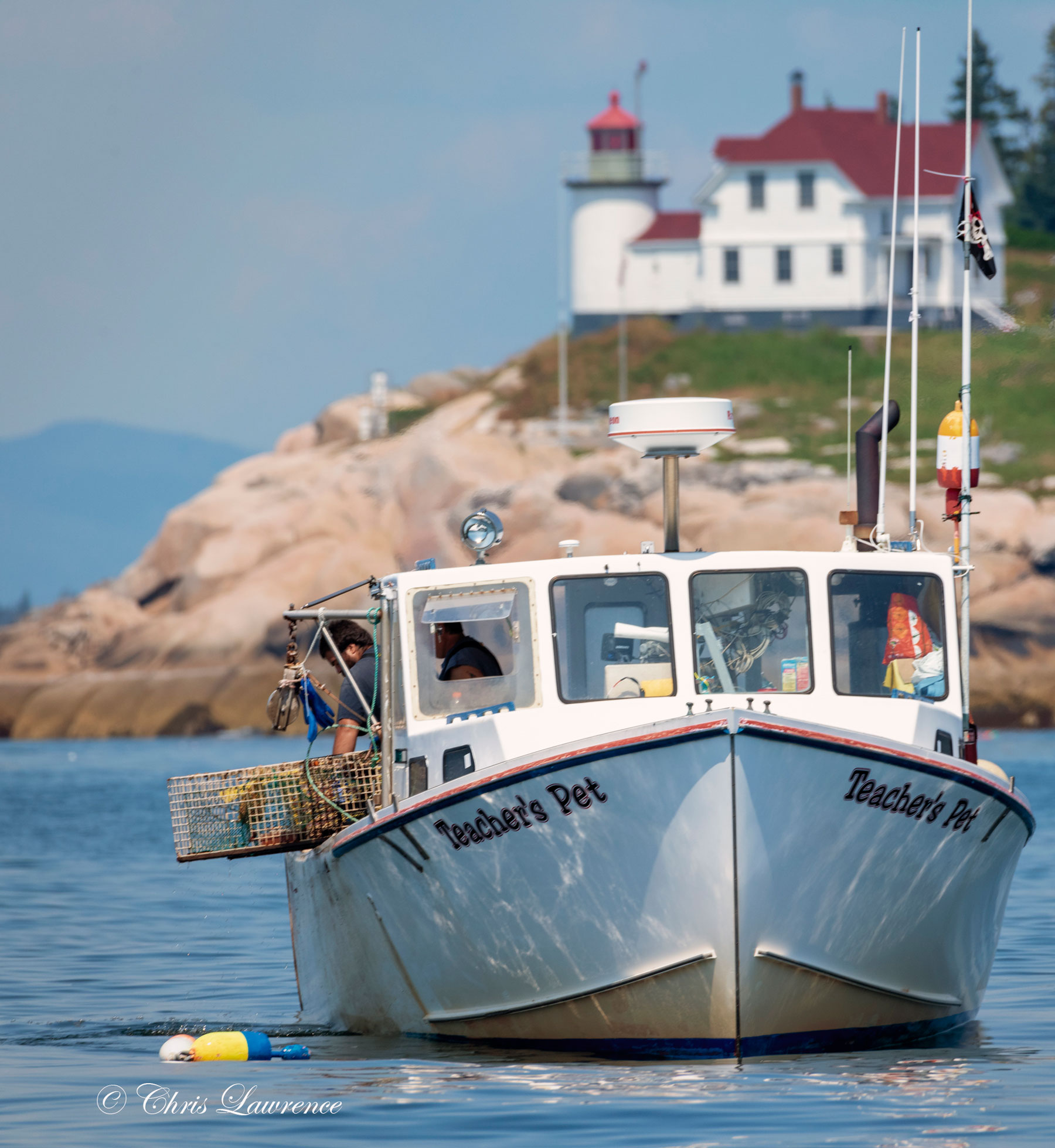 Lobstering off Vinalhaven by Chris Lawrence