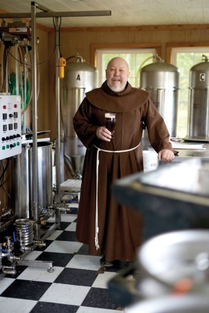 "Brother Donald ""Don"" Paul of Friars' Brewhouse Tap Room"