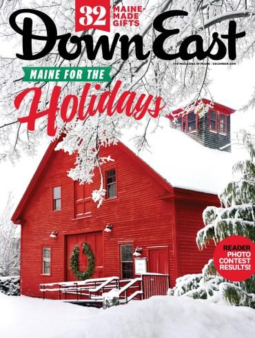 Down East magazine, December 2019