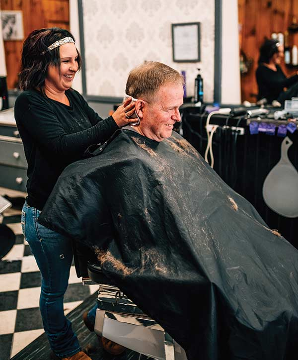 they've been cutting hair at Ed's Barber Shop for 63 years
