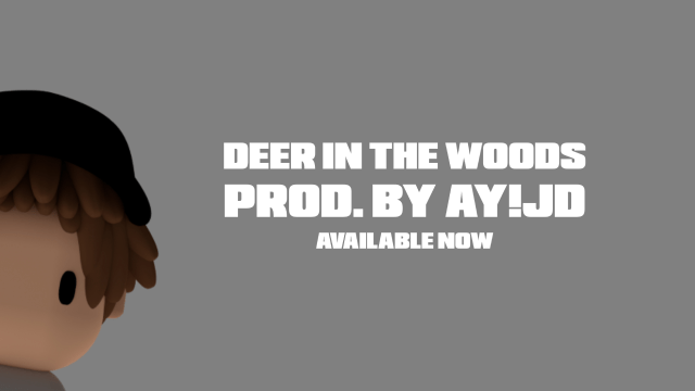 Deer in the Woods Hyperpop Single Spell Jordan Available Now