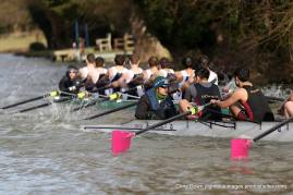 M2 being chased by Homerton, Mays 2015 © Christopher Down