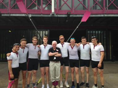 M2 with coach Leo Judd