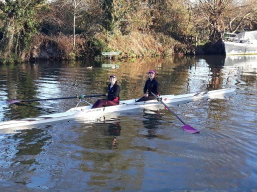 Katherine and Georgina - Small Boats Regatta, 2019