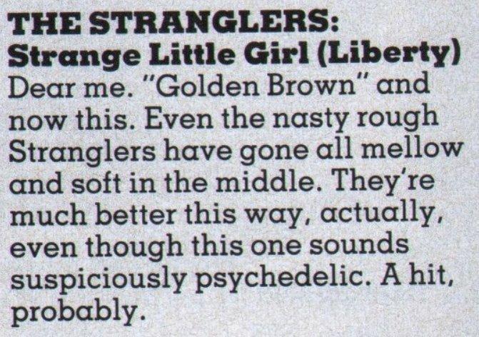 19820722 smash hits stranglers single review strange little girl