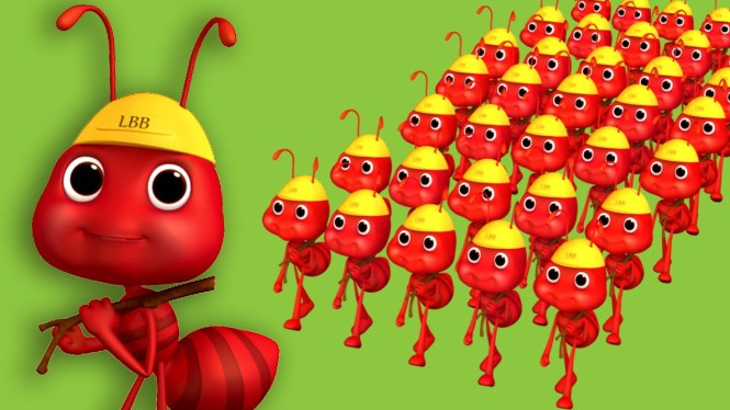 Edewcate English Rhymes The Ants Go Marching One By Tune Nursery Rhyme