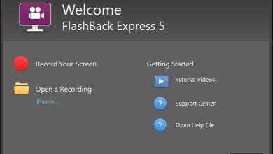 صورة تحميل برنامج فلاش باك برو 5 لتسجيل شاشة الكمبيوتر FlashBack
