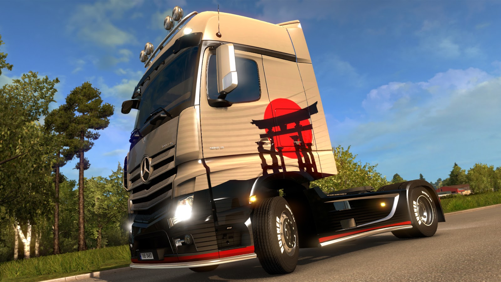 Japanese Paint Jobs Pack Released Download ETS 2 Mods