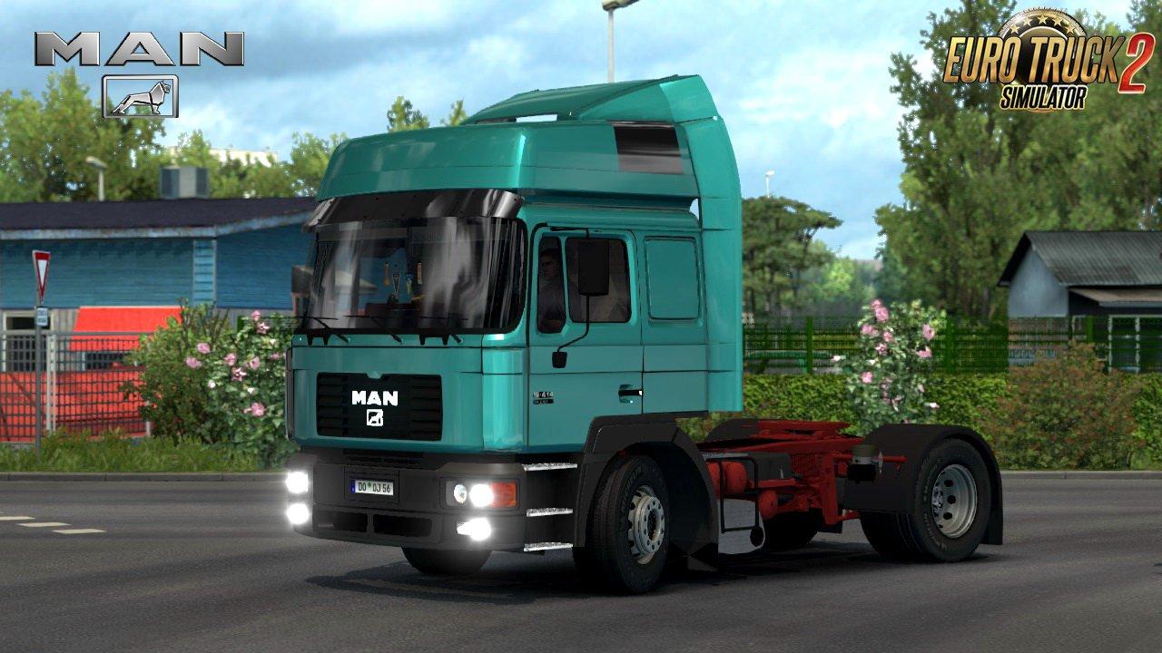 Man F2000 19 604 8x4 Interior V1 0 1 28 X 187 Ets2 Mods