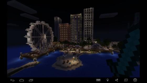 большой город для майнкрафт 0.14.0 #3