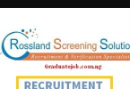 Head of Marketing at a Real Estate Company - Rossland Screening Solutions
