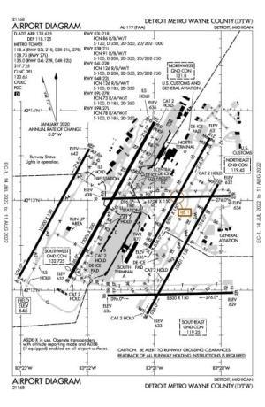 Detroit Metropolitan Wayne County AirportKDTWAOPA Airports