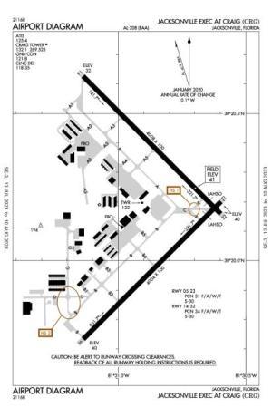 Jacksonville Executive At Craig AirportCRGAOPA Airports