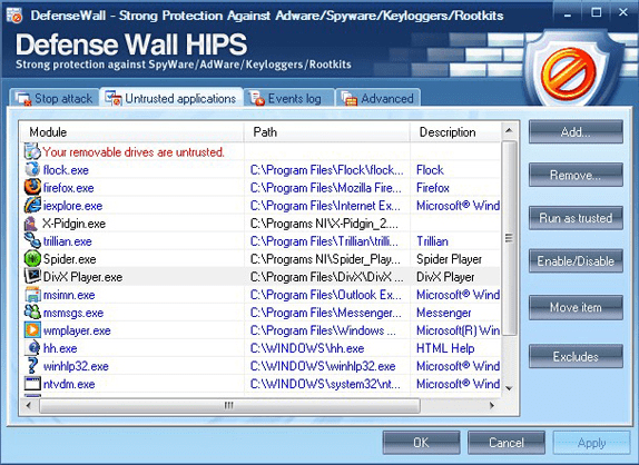 Personal Security Software