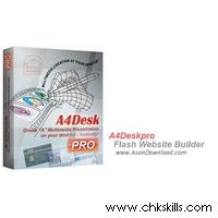 A4DeskPro-Flash-Website-Builder