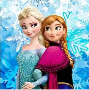 Cross stitch pattern FREE download in PDF file with Frozen