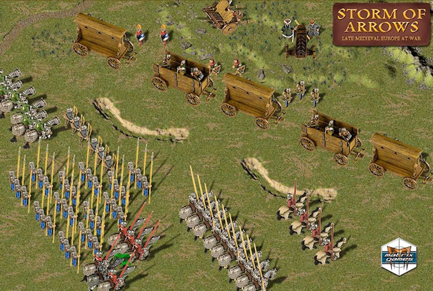 Field Of Glory Storm Of Arrows Screenshots And Game Art GameZone