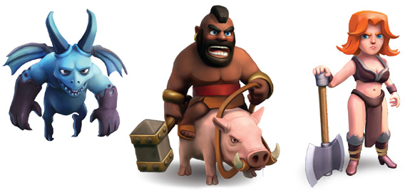 Clash Of Clans Cheats Dark Elixir Troops And Heroes Guide