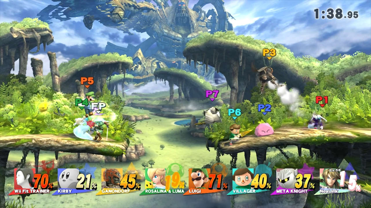Play Super Smash Bros Wii U Using The 3DS With The Smash Controller App
