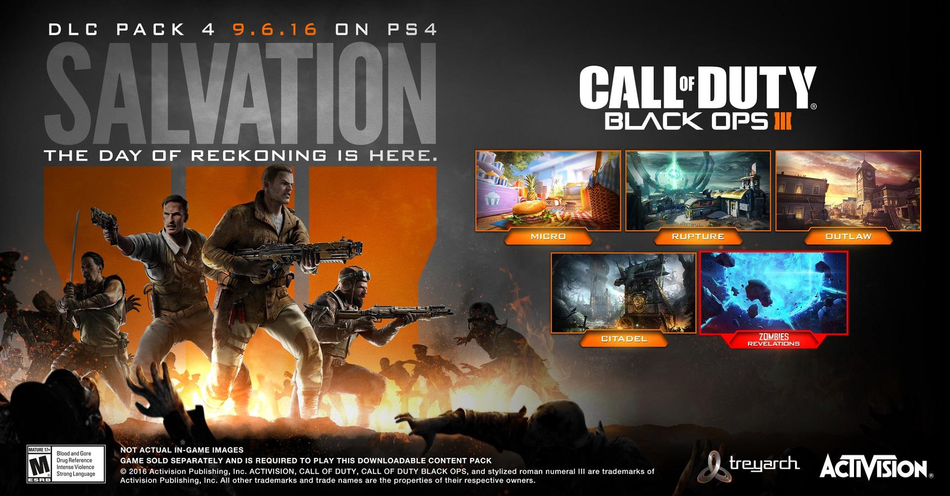 Call Of Duty Black Ops 3s Final DLC Salvation Releases On Xbox One And PC This Week
