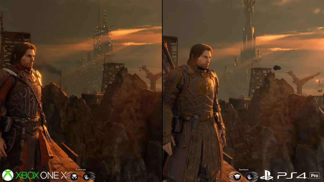 """Shadow of War on Xbox One X is a """"respectable"""" jump over the PS4 Pro"""