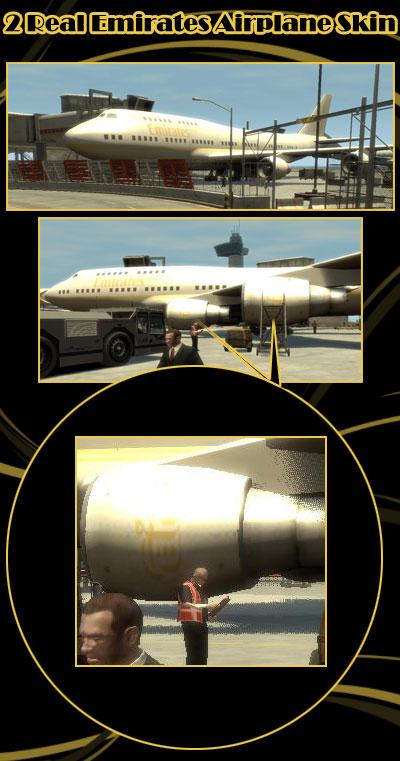 Aerei Emirates GTA 4 Mods Generiche GTA Expertit