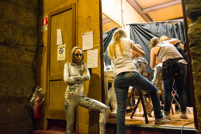 Prove d Aida: dietro le quinte con la Fura dels Baus
