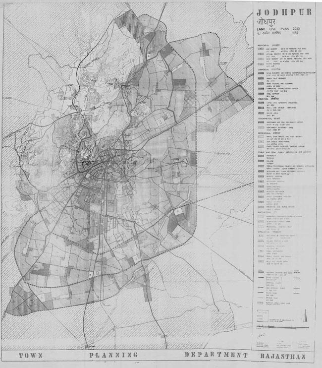 Jodhpur Master Development Plan 2023 Map